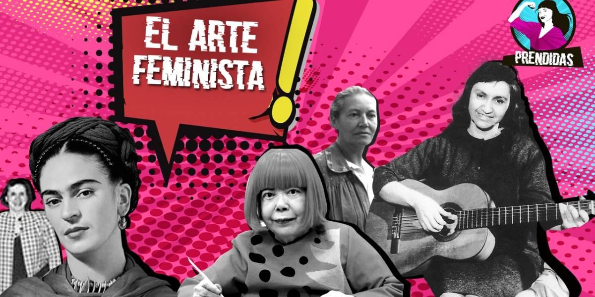 """""""Prendidas"""": Hablamos sobre el arte feminista"""