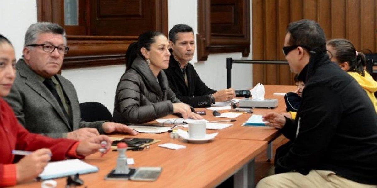 Claudia Sheinbaum recibe a 50 ciudadanos en Audiencia Pública