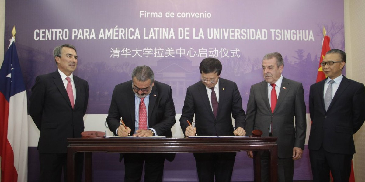Universidad más grande de China firma su desembarco definitivo en Chile