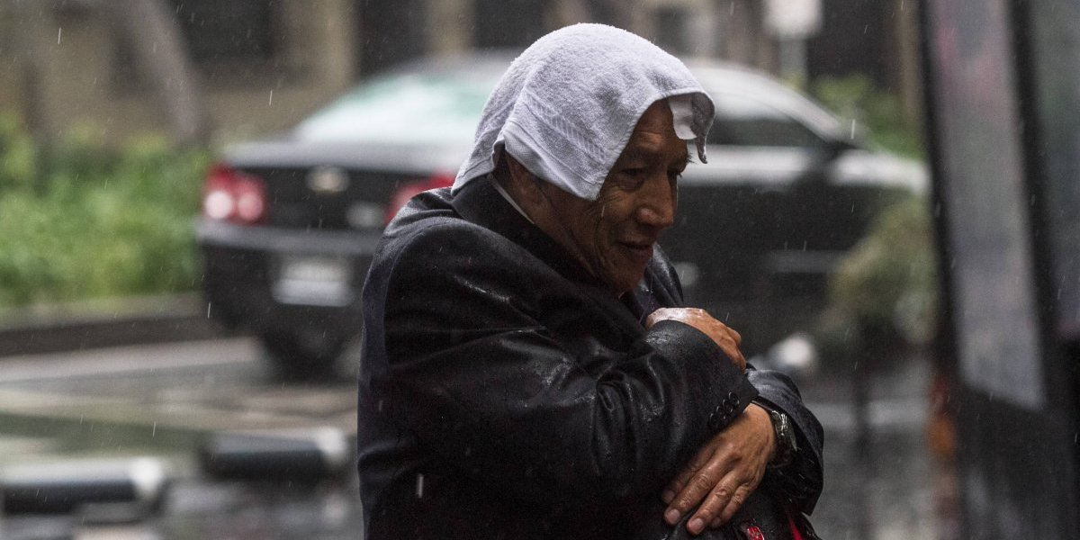 Se pronostica descenso de temperatura y lluvias en diversos estados