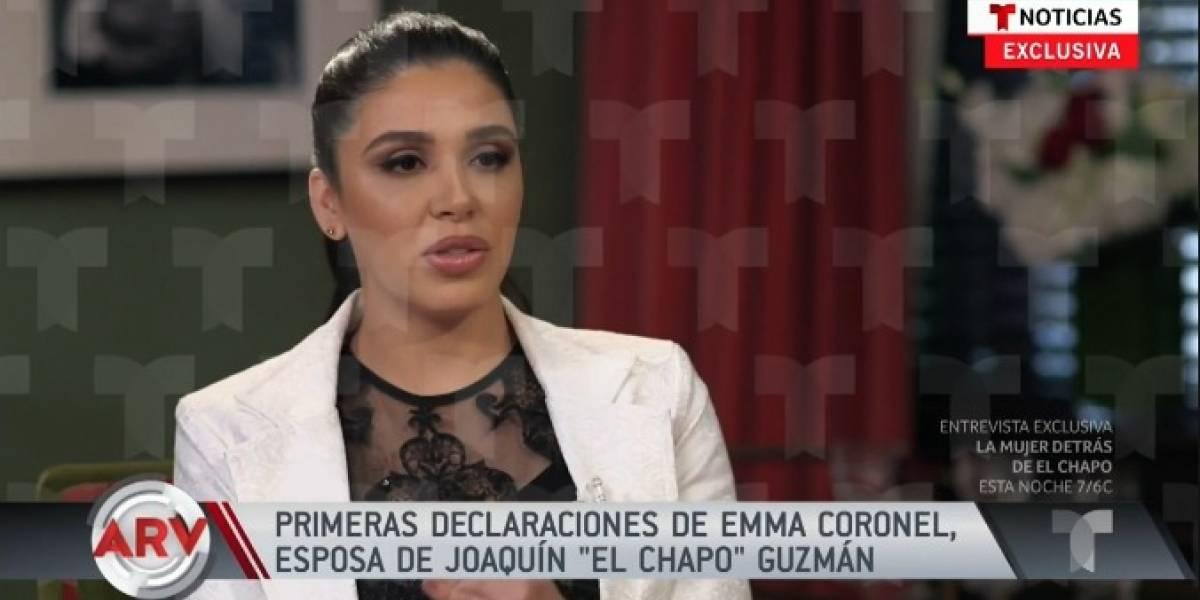No tengo ningún negocio ilícito: Emma Coronel