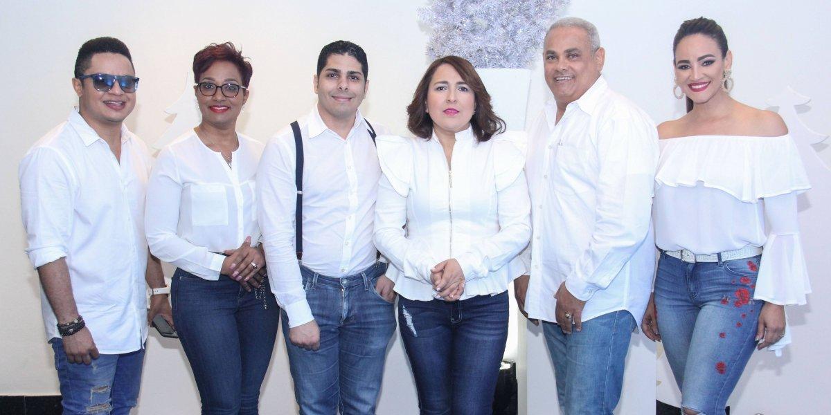 Acroarte celebró fiesta navideña en honor al merengue