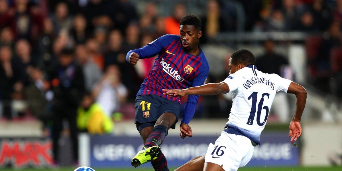Barcelona y Tottenham califican a octavos de final de la UCL tras dramático empate