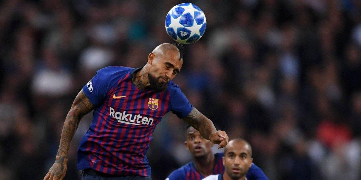 """Arturo Vidal no piensa darle una mano al Tottenham: """"Barcelona quiere terminar invicto"""""""