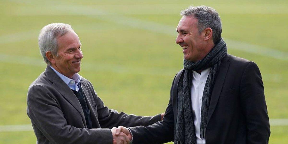 """Ruiz-Tagle deja la decisión del nuevo DT de Colo Colo en manos de Espina: """"Vamos a respetar su opinión"""""""