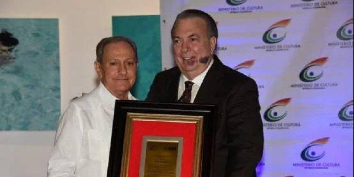 Haffe Serulle fue reconocido en el Festival Internacional de Teatro