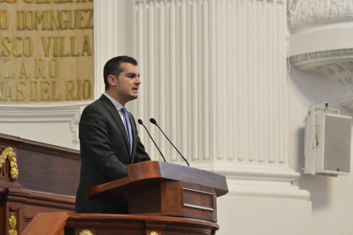 Jorge Triana pidió al Congreso de la Unión hacer las cosas bien. Cortesía.