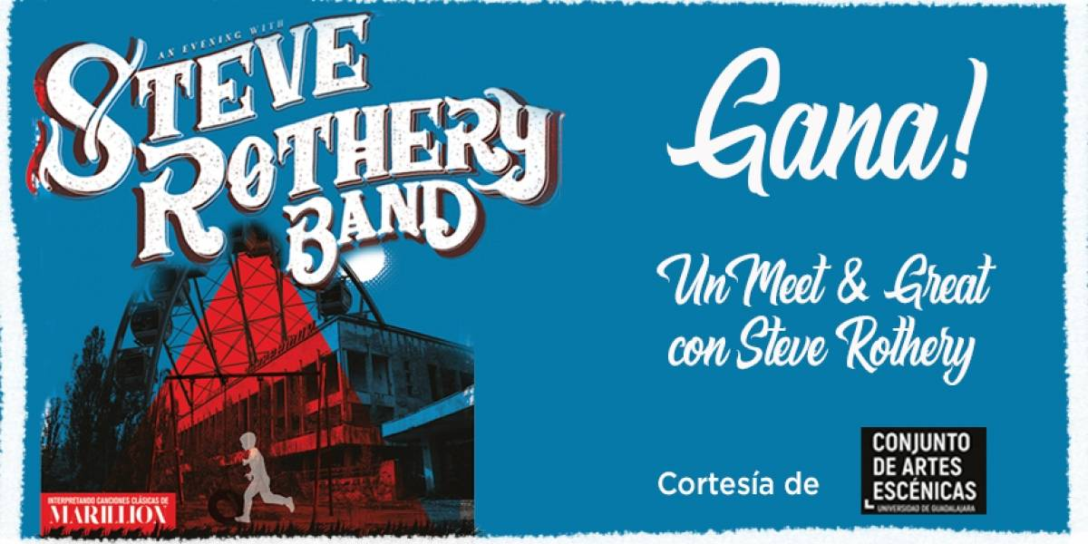 ¡Gana! un Meet & Great con Steve Rothery Band