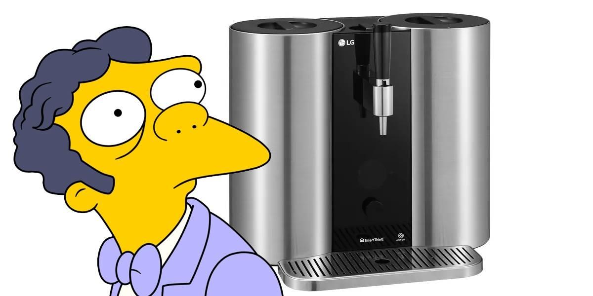 LG acaba de presentar la Nespresso de las cervezas