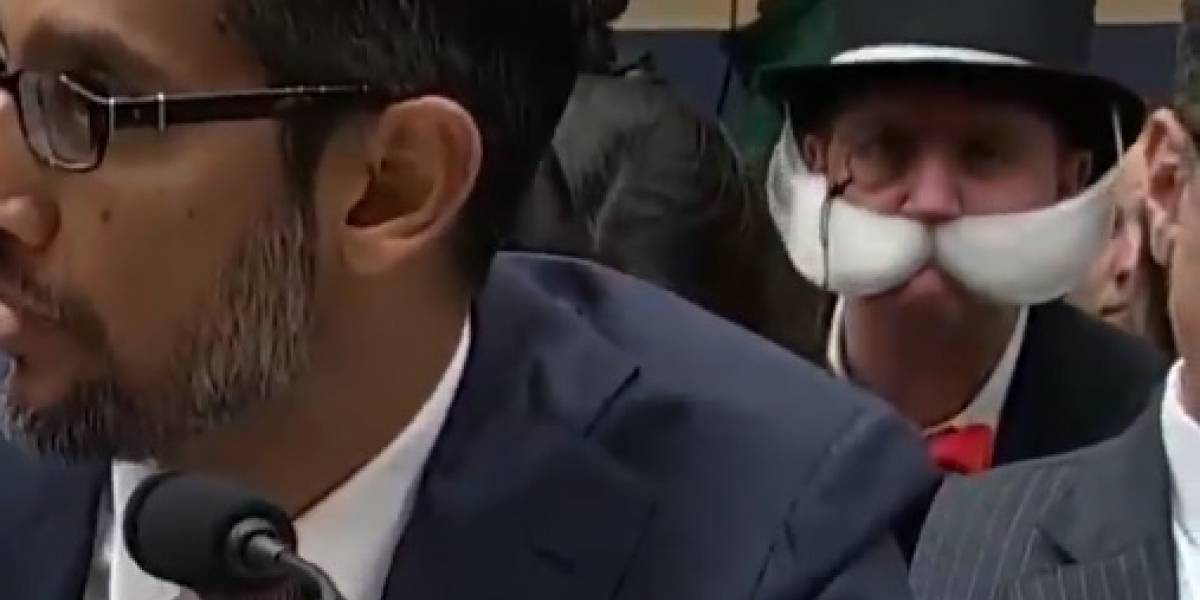 Épico trolleo a Sundar Pichai mientras exponía en el Congreso de Estados Unidos [VIDEO]