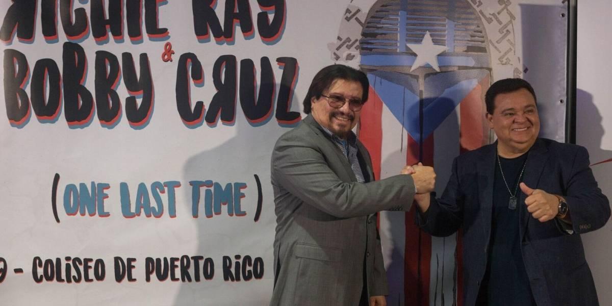Richie Rey y Bobby Cruz volverán a juntarse