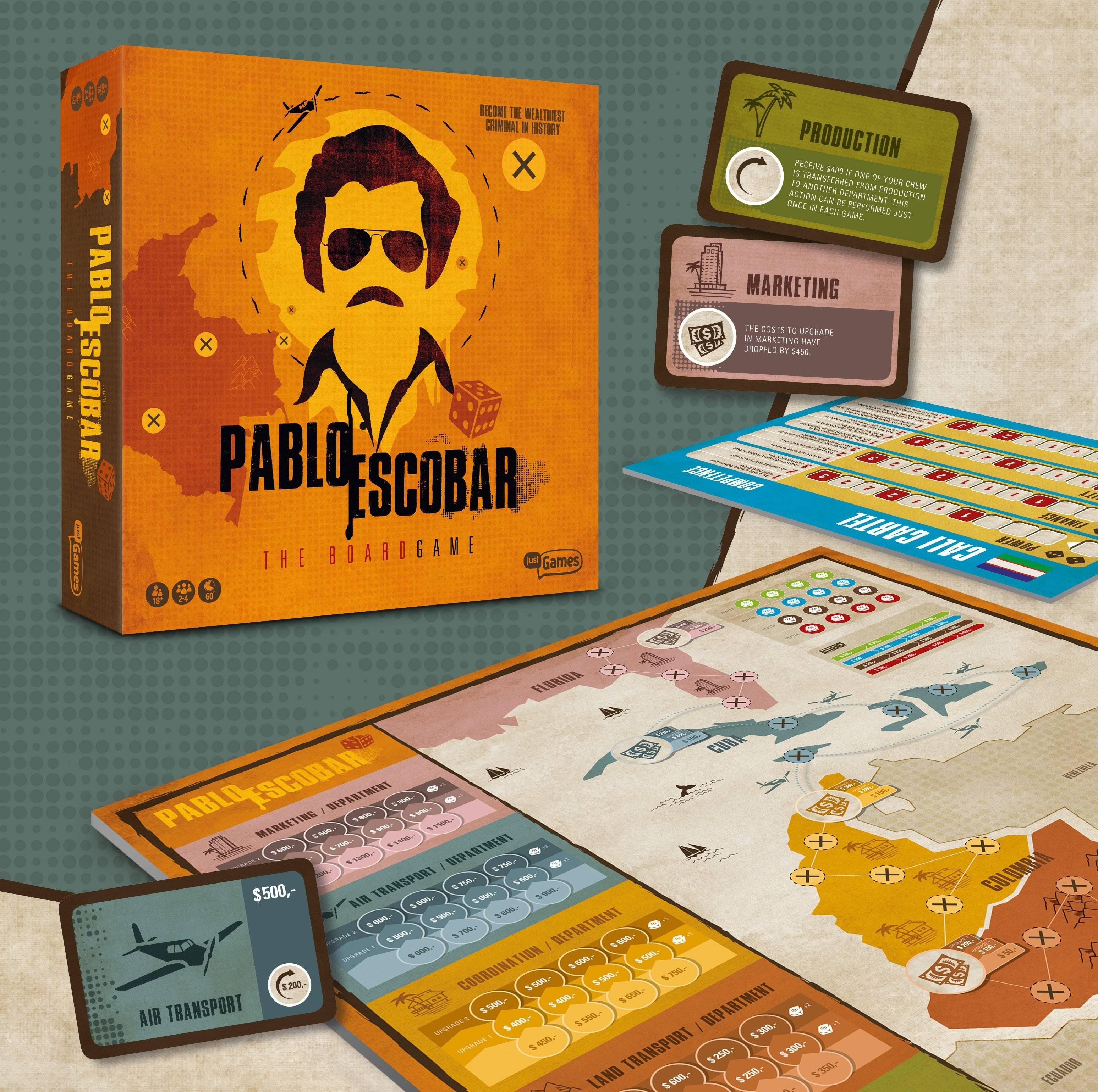 El lamentable juego de mesa de Pablo Escobar que se ganó las críticas de los colombianos