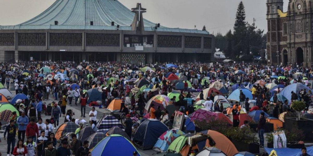 Más de 8 millones de peregrinos abarrotan la Basílica de Guadalupe