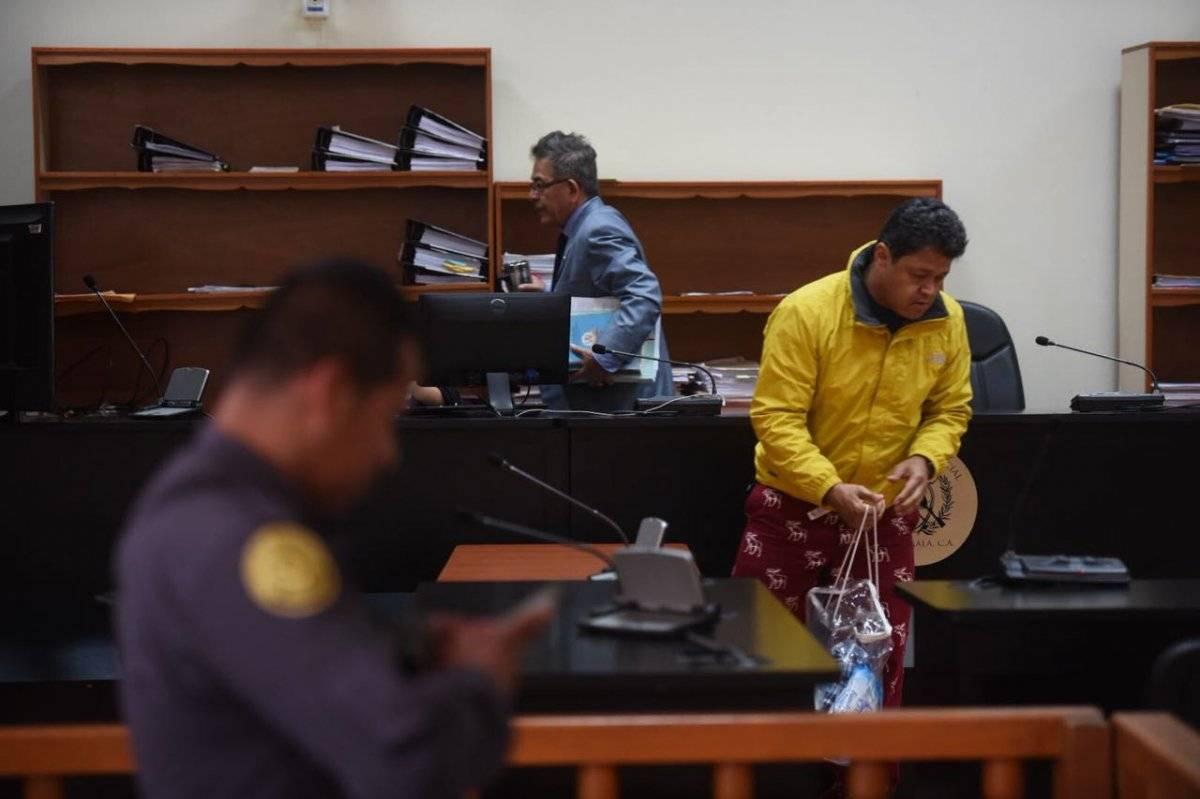 Raúl Osoy en audiencia de primera declaración del caso TCQ