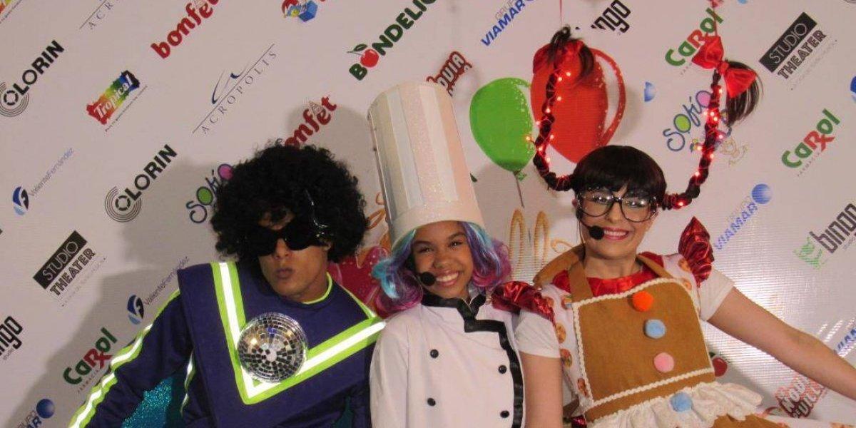 """Espectáculo infantil """"Las Navigalletas de Sofía Globitos"""" inicia este viernes 14 en Studio Theater"""
