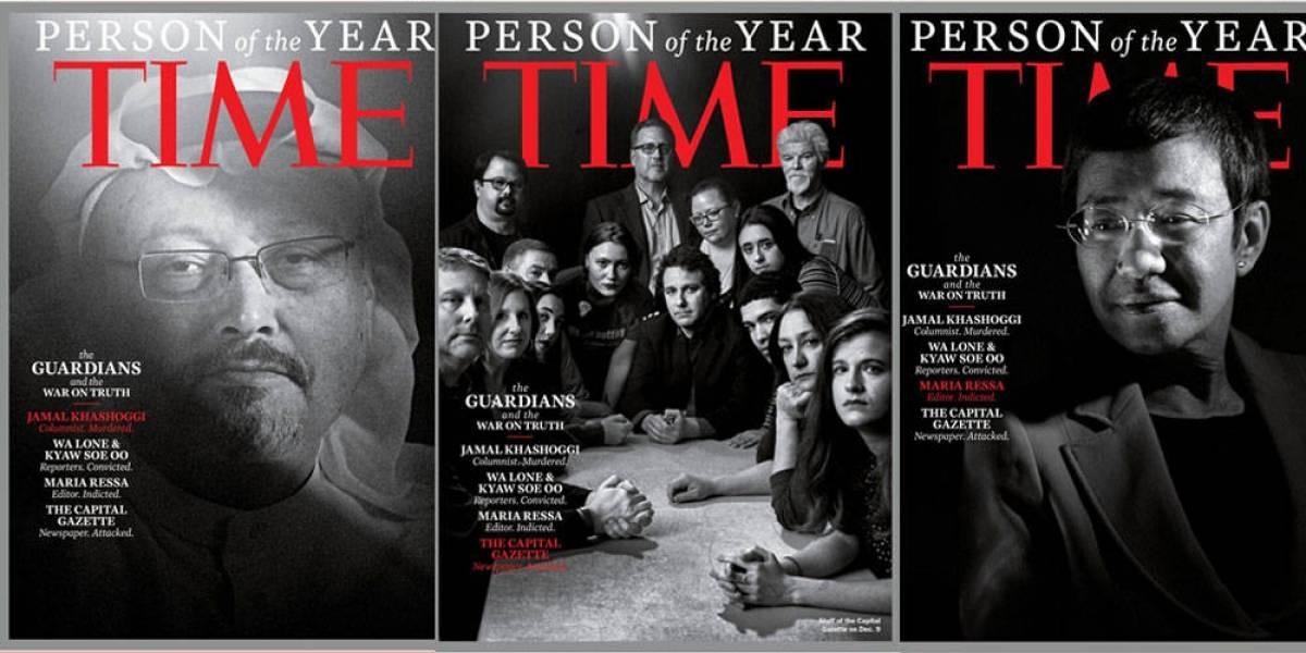 """Los """"guardianes de la verdad"""", la Persona del Año de Time"""