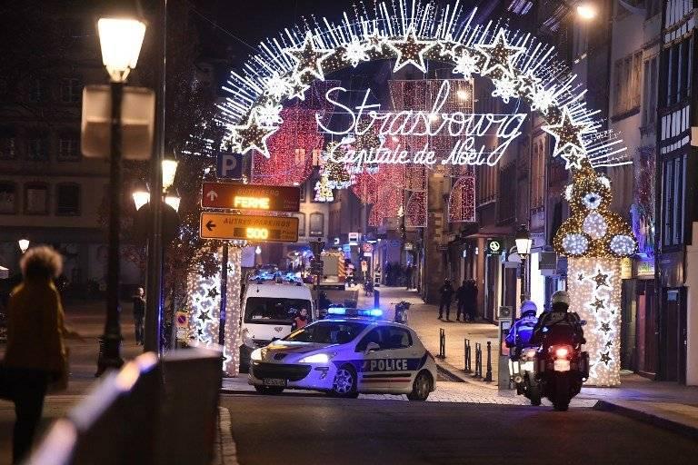 Tiroteo en mercado navideño de Estrasburgo