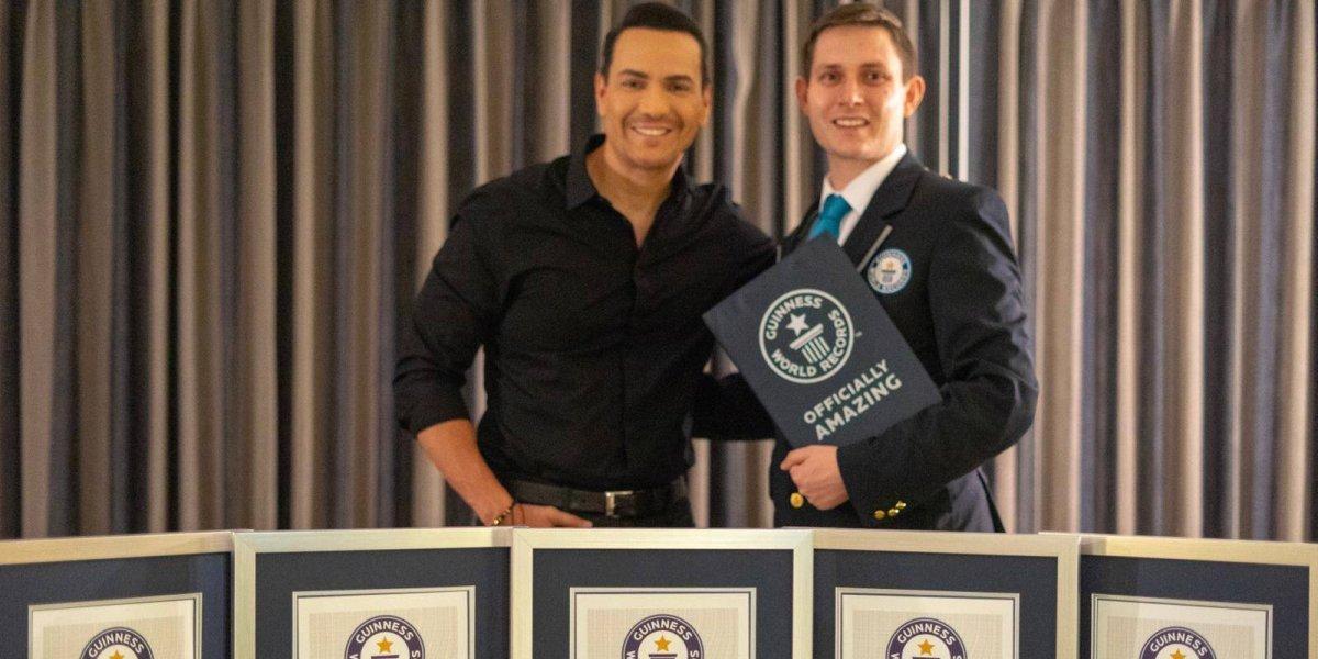 Víctor Manuelle recibió cinco premios Guinness por sus éxitos