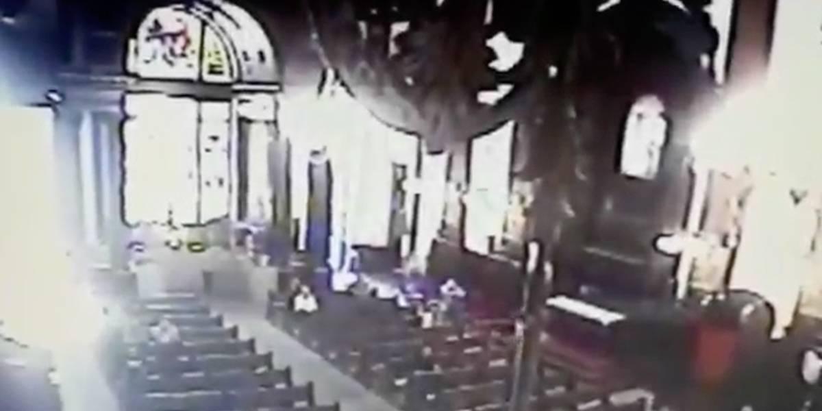 Vídeo mostra ataque em catedral de Campinas; imagens fortes