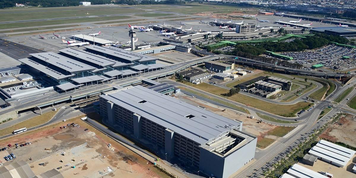 Guarulhos quer cobrar taxa ambiental de companhias aéreas que operam em Cumbica
