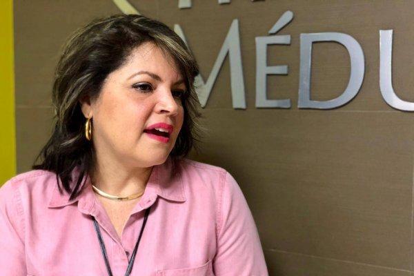 A pesar de los obstáculos durante su tratamiento, Cindy del Valle Malavé encontró un propósito en ayudar a otras personas que atraviesan por la enfermedad. david cordero mercado