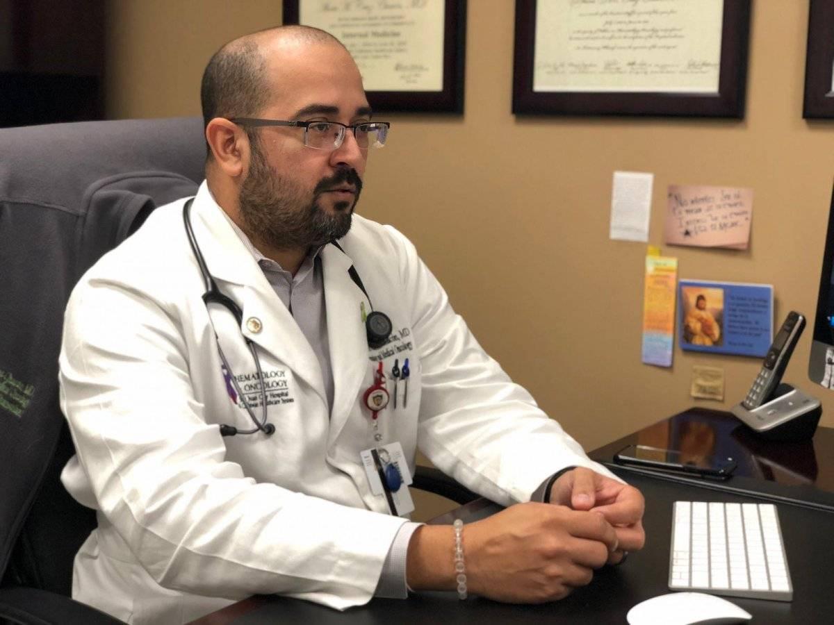 El doctor Alexis Cruz, hematólogo oncólogo, destacó que para muchos pacientes de leucemia, el único tratamiento efectivo es un trasplante de médula ósea. DAvid cordero mercado
