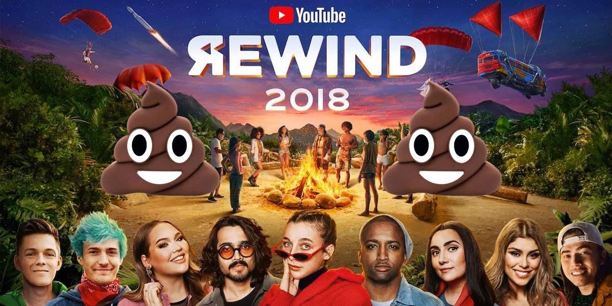 YouTube Rewind 2018 es el recuento más odiado en la historia de la plataforma