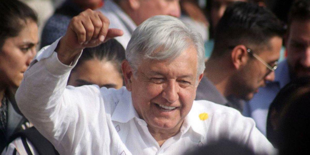 El candidato presidente López Obrador