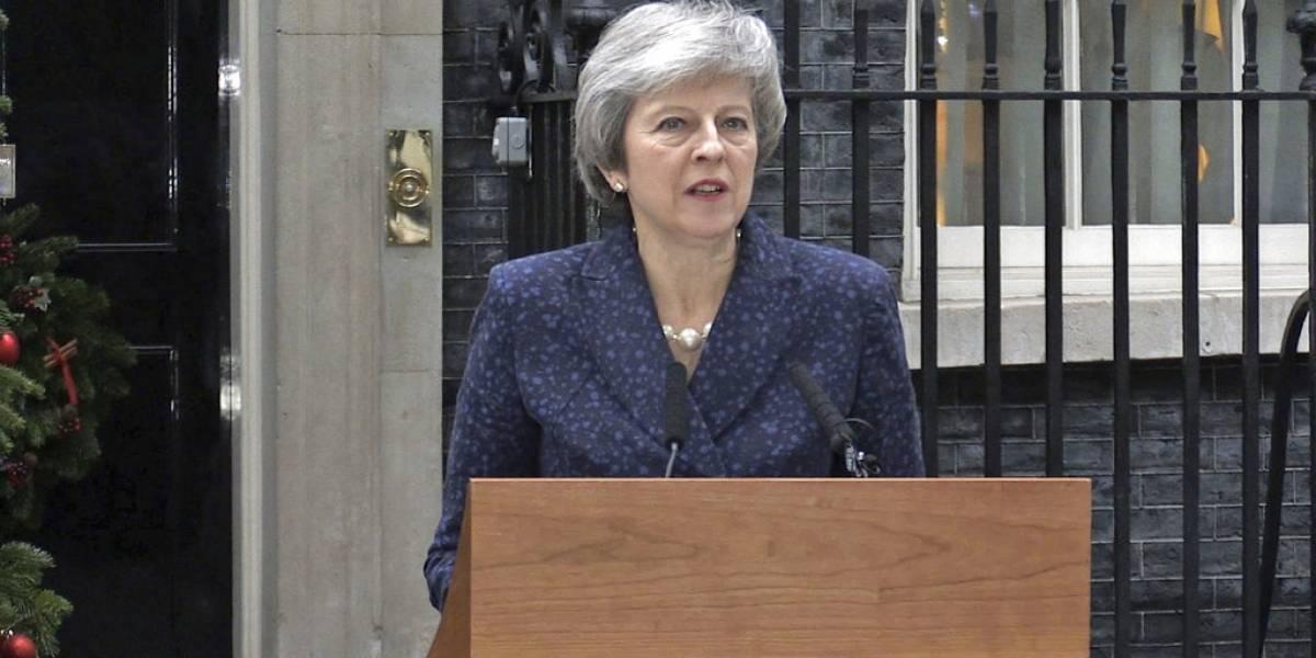 Dejará de liderar el gobierno si pierde: Theresa May enfrenta moción de censura en medio del caos político en Reino Unido por el Brexit