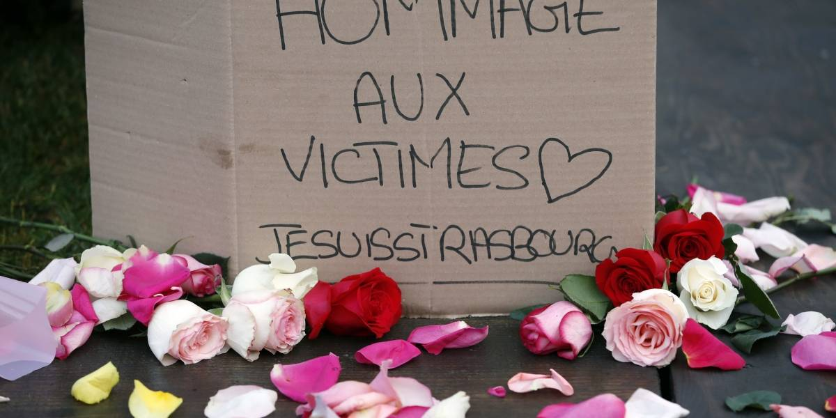 """Sospechoso de ataque terrorista en Estrasburgo gritó """"Allah Akbar"""""""