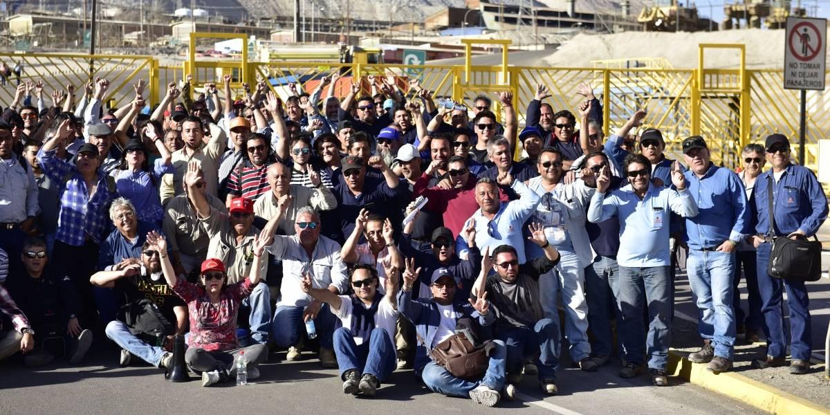"""Chuquicamata paralizada por tres sindicatos: """"la mayoría de la gente sale enferma"""""""