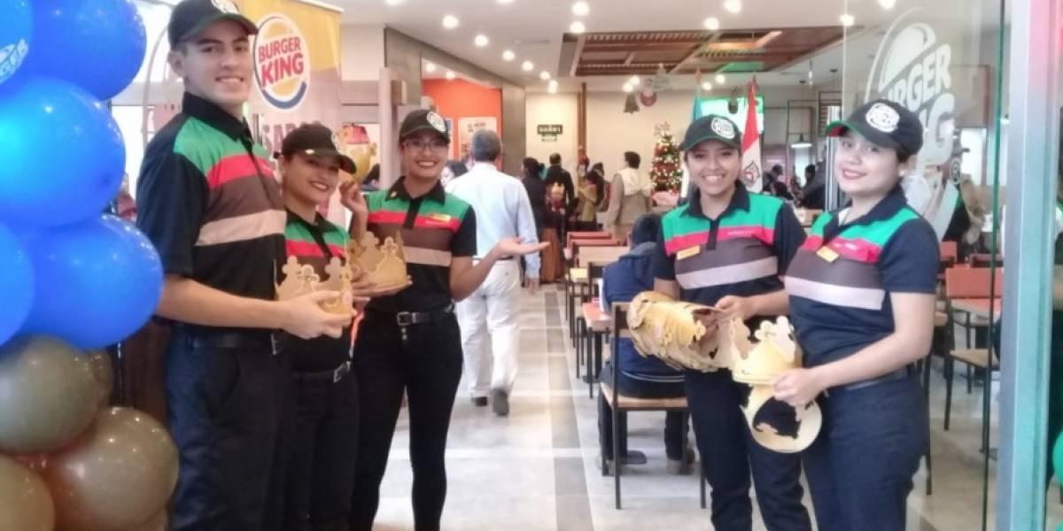 Burger King se acerca a los amantes de las hamburguesas a la parrilla de las Verapaces
