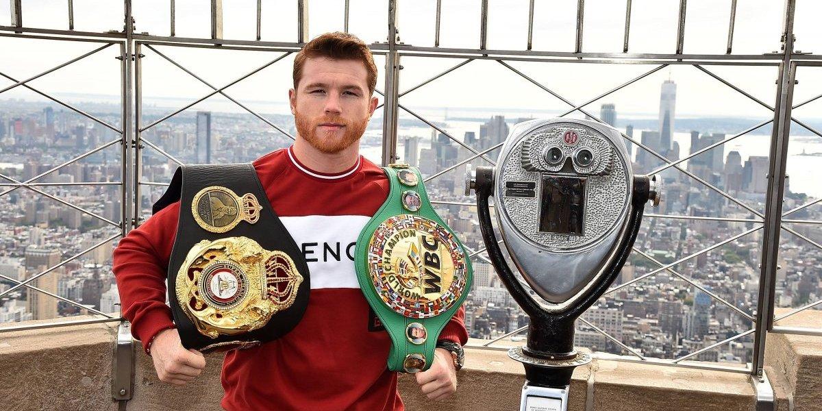 'Canelo' Álvaréz está motivado para dejar un legado en el boxeo