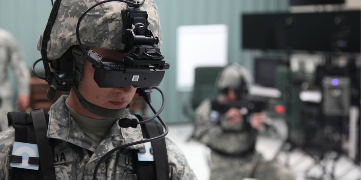 5 formas en que los militares utilizan la Realidad Virtual