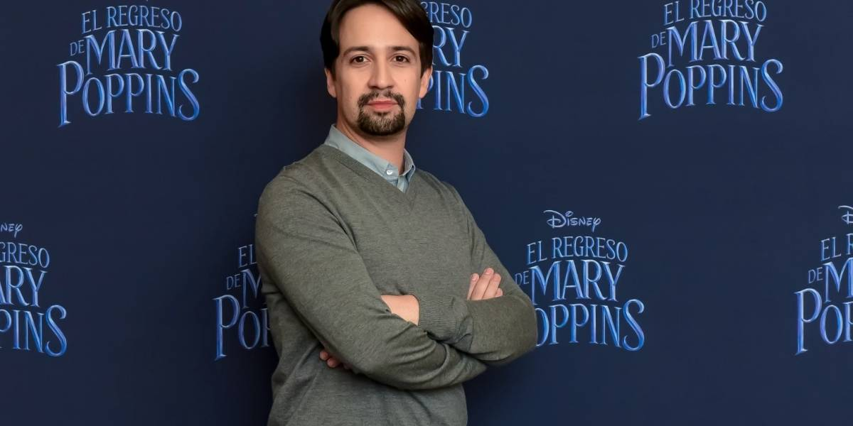 """No hay mejor lugar para escapar del mundo actual que 'Mary Poppins Returns'"": Lin-Manuel Miranda"