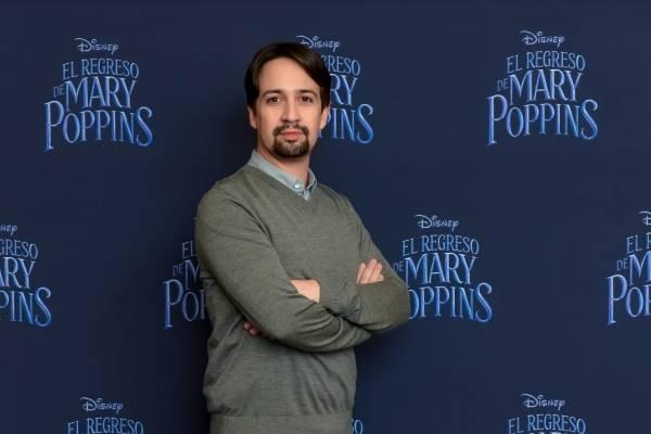 """""""No hay mejor lugar para escapar del mundo actual que 'Mary Poppins Returns'"""": Lin-Manuel Miranda"""