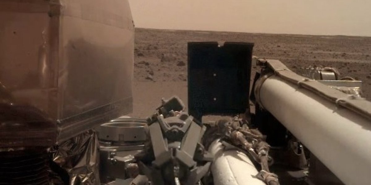 Sonda InSight se tomó su primera selfie en Marte