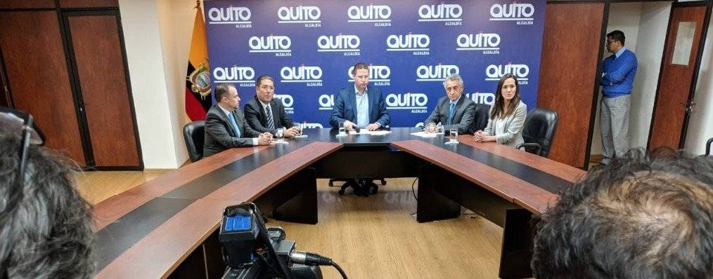 Mauricio Rodas llevará a la Asamblea proyecto Legal para regulación de Uber y Cabify