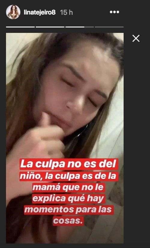 Instagram Lina Tejeiro