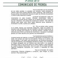 Hermes Soto revela dura crisis en Carabineros con mensaje a uniformados
