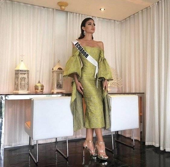 Virginia Limongi tuvo su entrevista con el jurado de Miss Universo Instagram
