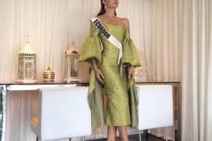 Virginia Limongi tuvo su entrevista con el jurado de Miss Universo