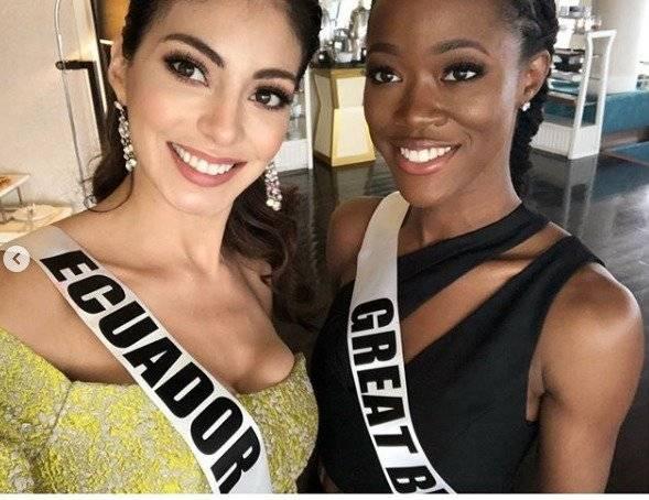 Virginia Limongi tras su entrevista con el jurado del Miss Universo Instagram