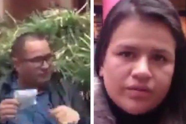 ojo con estos ladrones, capturados en centro comercial del norte de Bogotá