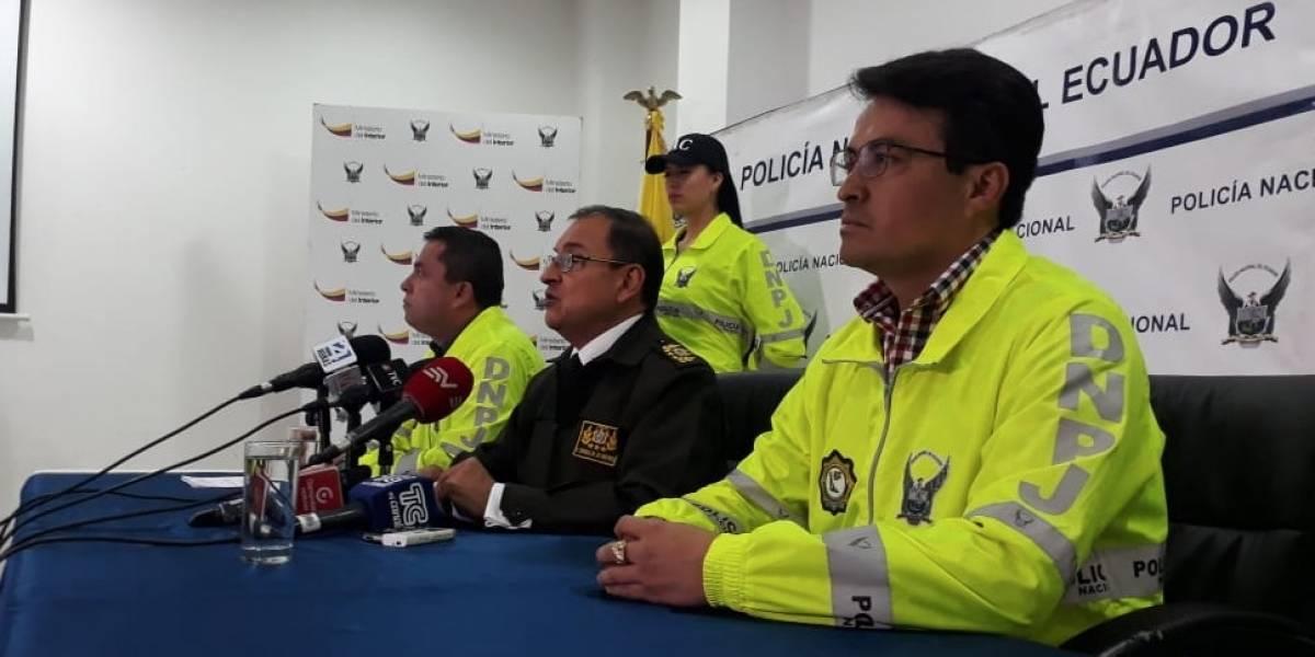 Policía Nacional detiene a más de 20 personas en triple acción contra robo a personas y domicilios