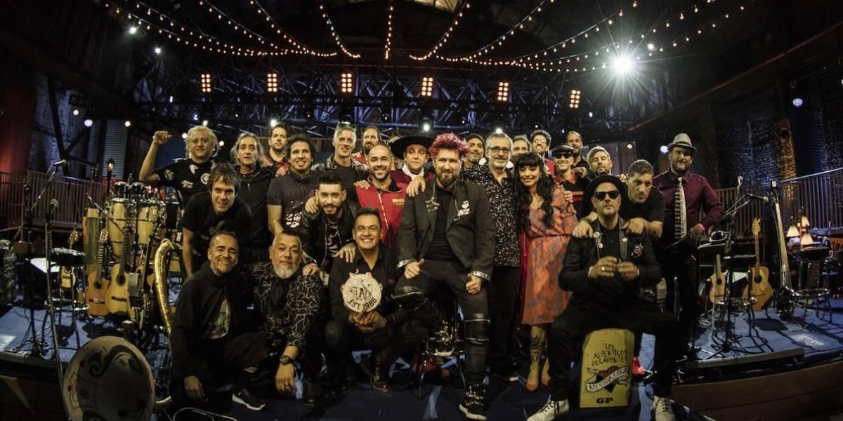 Los Auténticos Decadentes presentan un MTV Unplugged que es todo un carnaval