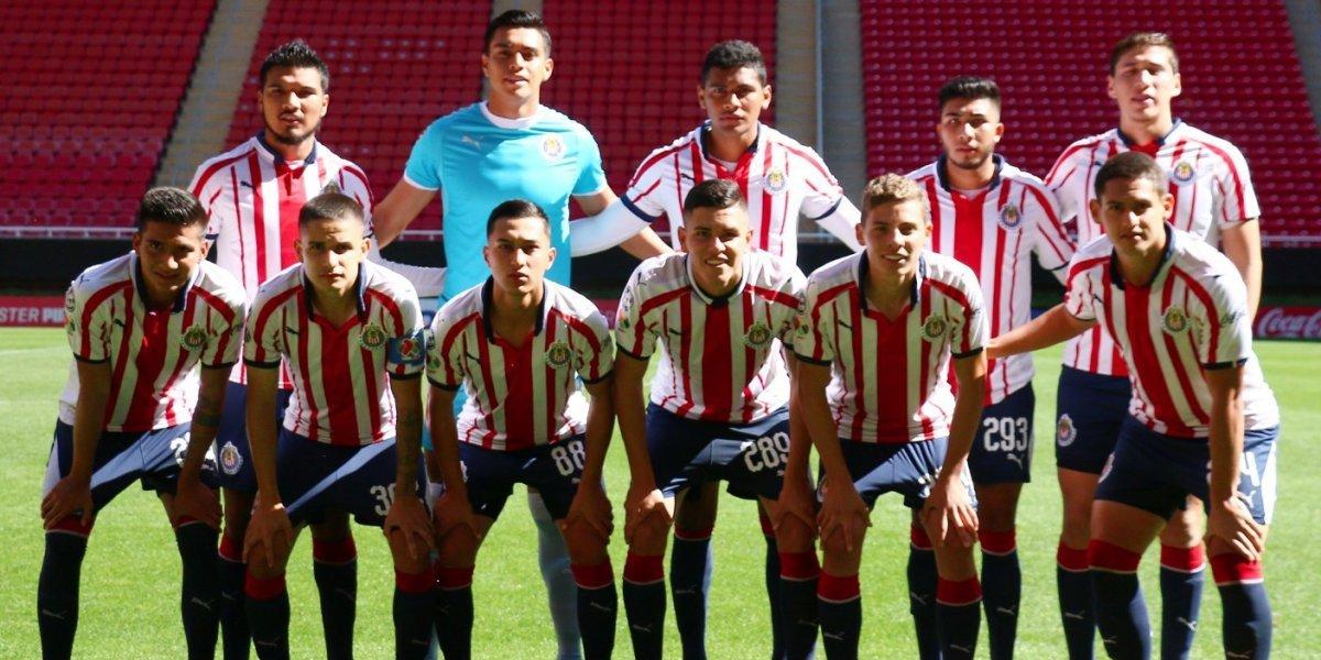 Chivas toma ventaja sobre León en la final Sub-20