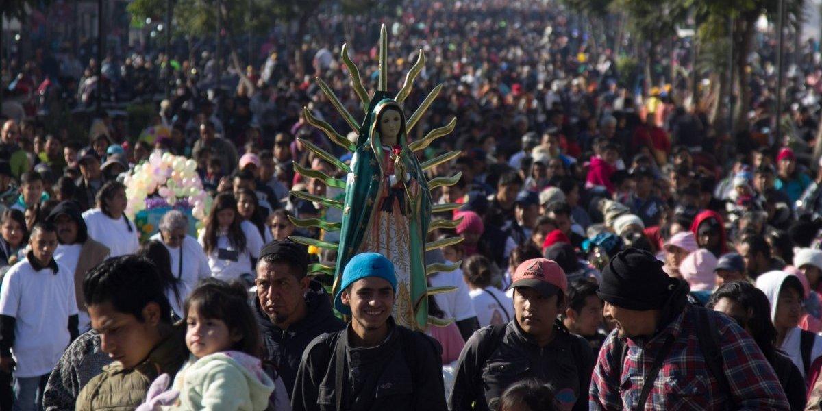 Más de 10 millones de peregrinos abarrotan la Basílica de Guadalupe