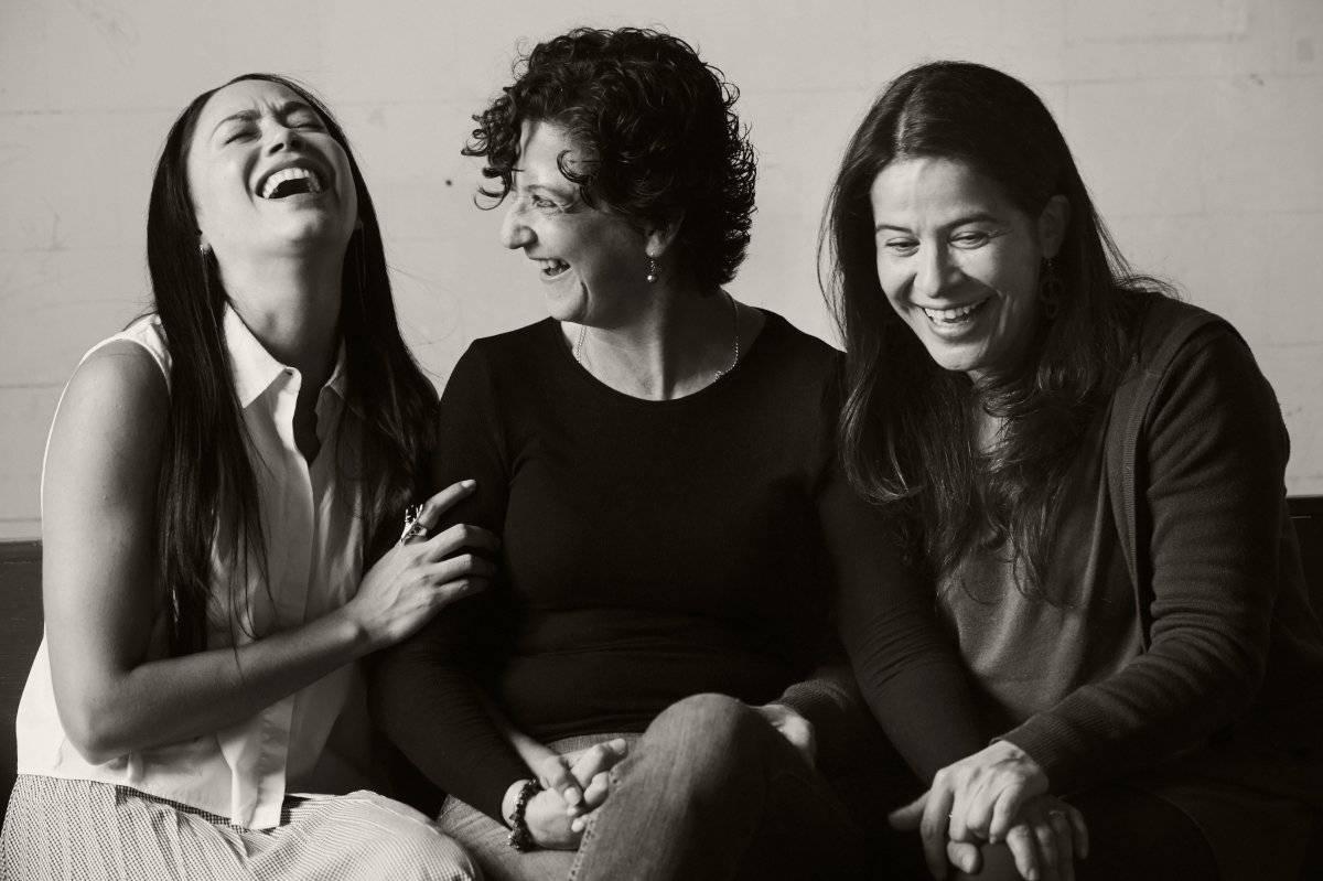 Masha (Arcelia Ramírez), Olga (Emma Dib) e Irina (Maya Zapata) Cortesía