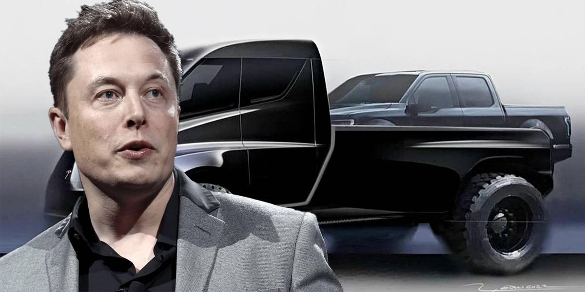 Elon Musk ya tiene un propósito para 2019: una camioneta Tesla